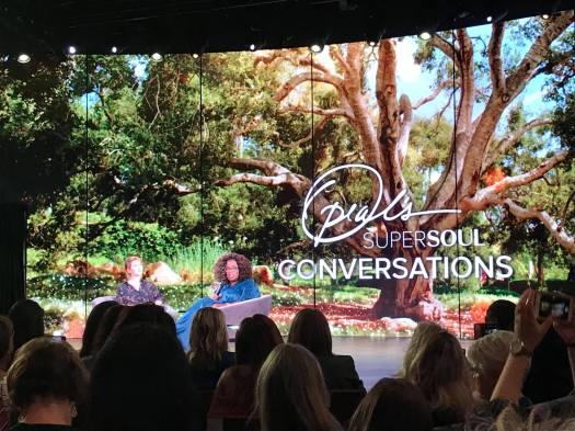 Oprah Super soul talk